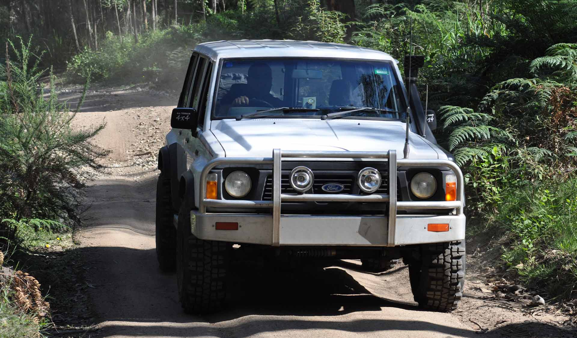 A 4WD in Bunyip State Park.