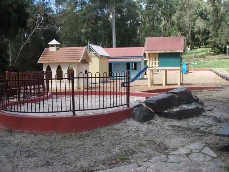 Children's playground at Maroondah Reservoir