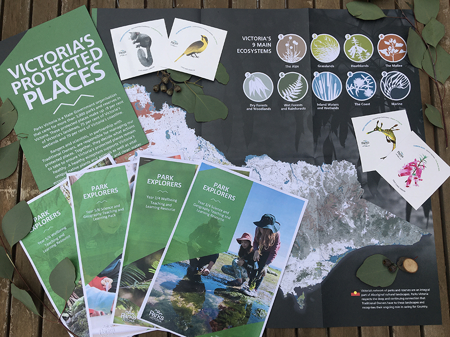 Park explorers resources