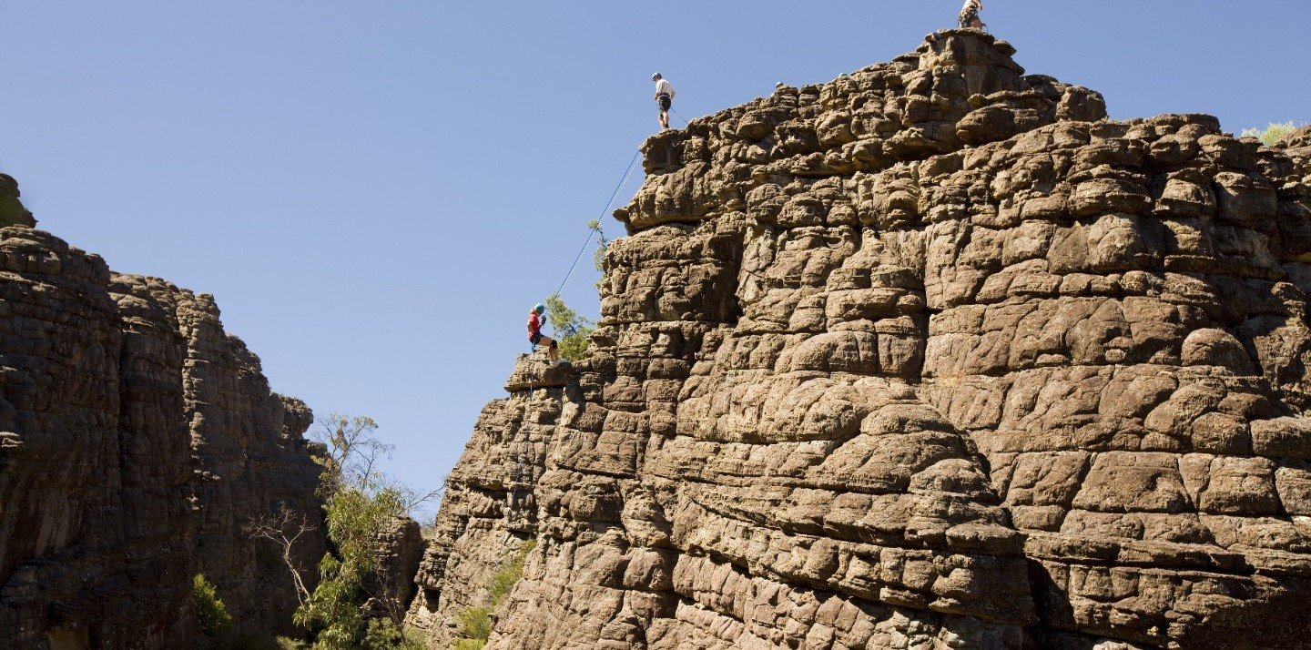 Rock climbing in Grampians National Park