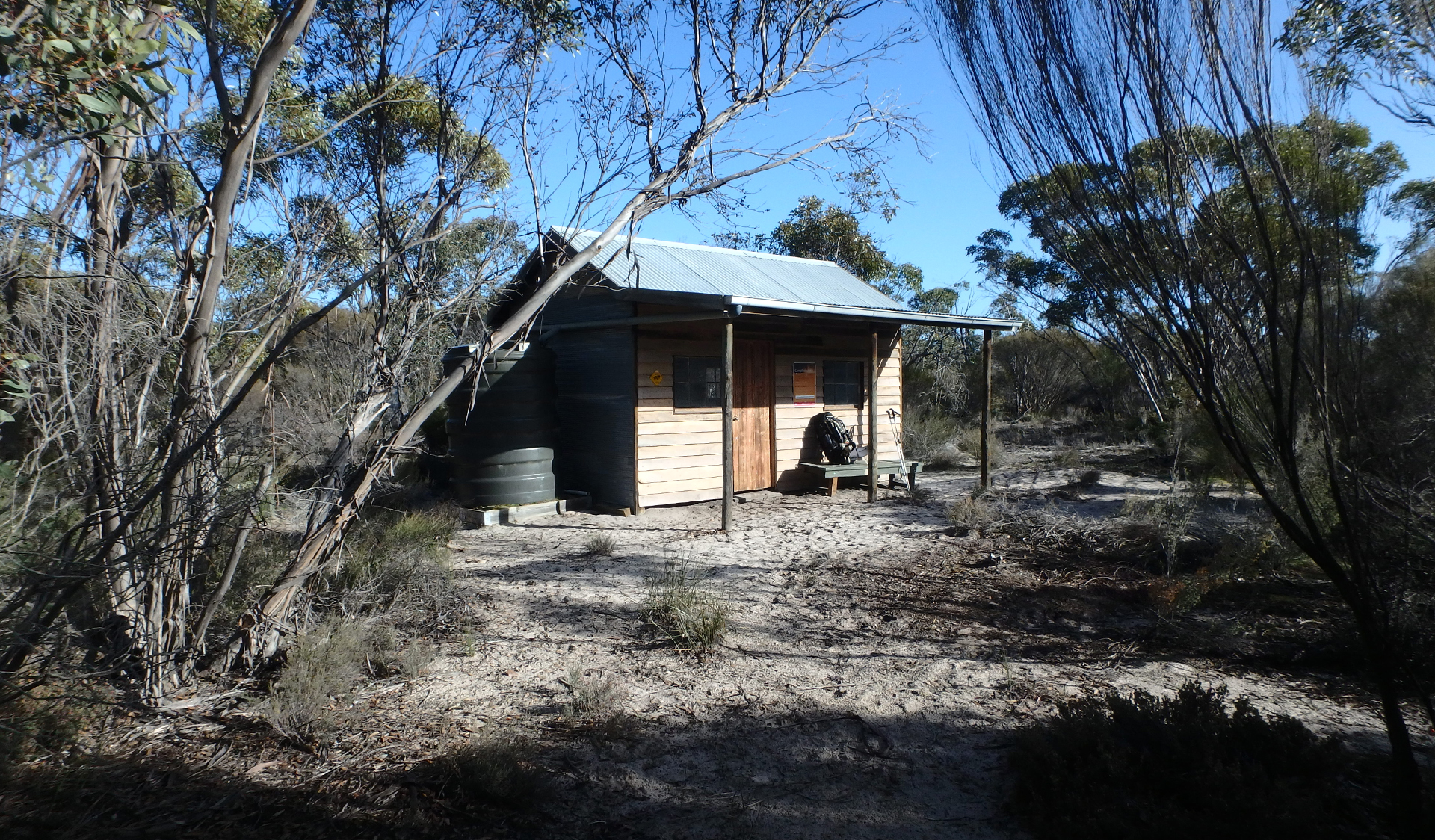 Mallee Walkers camp at Little Desert National Park